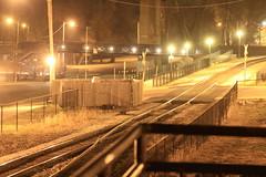 52 Weeks...Week 46 Night Photography (elliemae224) Tags: night canon 2012 week46 railroadtracks 522012 52weeksthe2012edition weekofnovember11