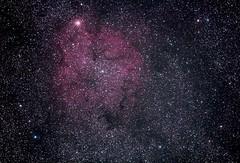 Elephant's Trunk Nebula (IC 1396) in Cepheus: 19/11/12 @ 22:40 UTC (AbsoluteFolly) Tags: cepheus ic1396 elephantstrunknebula ef70200mm14l Astrometrydotnet:status=solved astronomik clsfilter Astrometrydotnet:version=14400 eos60da Astrometrydotnet:id=alpha20121119786082