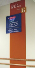 Interior Wayfinding Directional Sign