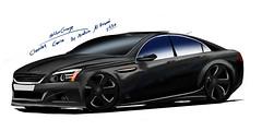 My Drawing , Chevrolet Caprice , Holden Grange (eBrahim alhazmi  ) Tags: chevrolet super grange v8 charger holden caprice 60l  62l