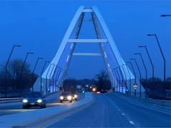 CROSSING THE LOWRY AVE BRIDGE (strandviewphotos) Tags: mn hennepin top20bridges