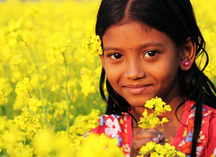 in yellow dreamland (auniket prantor) Tags: flowers light people flower color nature girl beautiful beauty smile field yellow female rural season children landscape golden living nice flora scenery asians looking natural outdoor path live harvest scenic lifestyle running run scene farmland palm human smiley attractive bloom mustard crops pollen persimmon lovely exquisite agriculture bangladesh magnificent cultivation delightful flourish bengali bengalis oilseed bangali bangladeshis pleasing seasonsmile