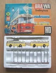 Brawa/Eheim HO (1:87 scale) Trolleybus Set (dougie.d) Tags: ho 187 trolleybus modelrailway obus eheim brawa