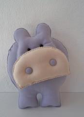Hipopotamo Feltro (Mrcia Alves Gonalves de Lima) Tags: aniversario feltro festa decorao almofada hipopotamo