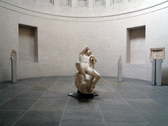 Barberini Faun, in hall