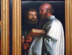 Dürer, The Four Apostles, Mark and Paul