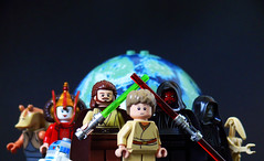 Lego Star Wars Episode I (Oky - Space Ranger) Tags: logo star palpatine lego battle queen darth r2d2 planet jar padme anakin recreation wars vader phantom clone episode naboo menace droid qui maul skywalker gon binks jinn amidala sidious i