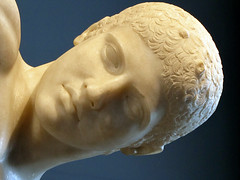 Myron, Discobolus, detail of head