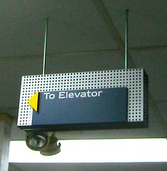 Interior Wayfinding Suspended Sign