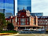 (One side of) The Newly Renovated Tokyo Station (only1tanuki) Tags: japan geotagged tokyo 日本 tokyostation railstation renovated iphone 東京駅 千代田区 東京都 chiyodaward