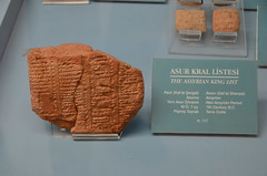 Assyrian king list, Neo-Assyrian Period, 7th cent. BCE (2) (Prof. Mortel) Tags: turkey istanbul cuneiform assyrian museumoftheancientorient