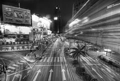 Bukit Bintang (Khairul Effendi Production) Tags: street light trail busy malaysia monorail bukit bintang