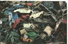 scrapyard. (RUSTDREAMER.) Tags: junkyard scrapyard morrisminor alfaromeo daf triumphherald saab96 470 austina40 audi100 renault16 austin1100 fordescortmk1 fordcortinamk2 minimk1 rustdreamer
