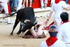 Ouch!!! (kilt4142) Tags: man male festival spain kilt bare under scottish scot tradition kilts pamplona scots tartan kilted scotsman runningofthebulls sanfermin upkilt