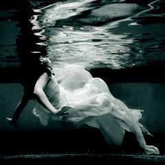 For the sake of death. (Lily Zaslavski) Tags: girl dark children underwater child darkphotography brookeshaden secretparadisiac
