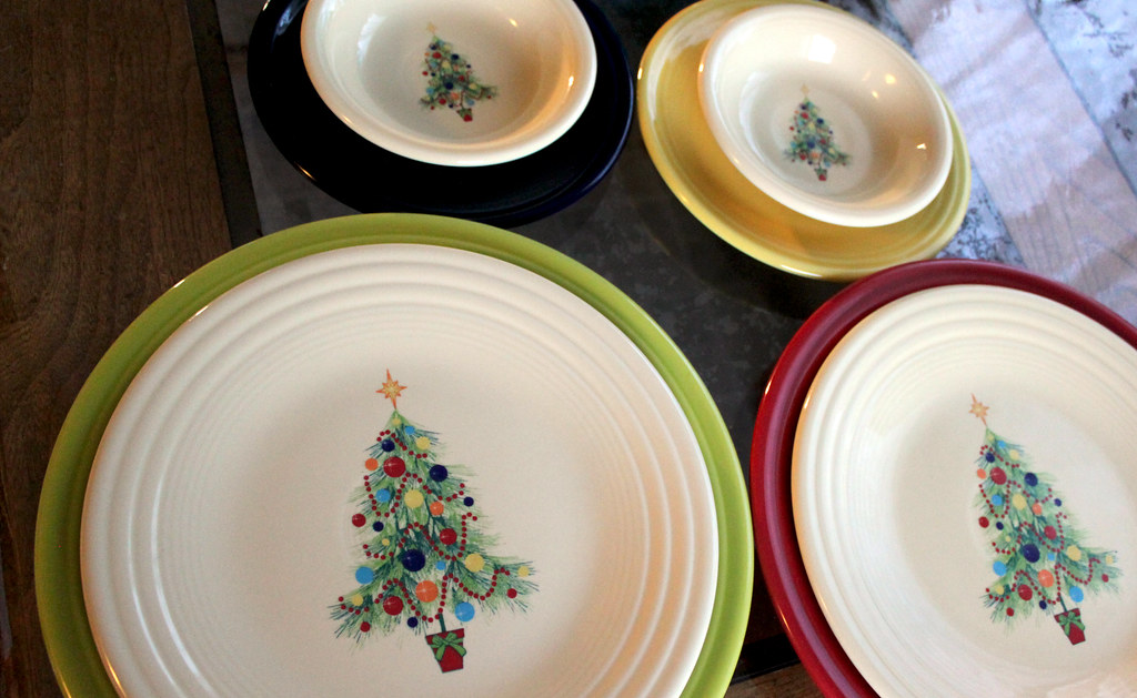 The World's Best Photos Of Fiestaware And Plates Flickr Hive Mind - Fiesta Christmas Tree Dinnerware
