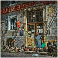 Café Populaire - Cévennes 2012 (Philippe Hernot) Tags: bar bistrot café lozères 48 cévennes languedocroussillon france philippehernot carré square kodachrome mygearandme rememberthatmomentlevel1 rememberthatmomentlevel2 crise austérité populaire nikond700 nikon posttraitement