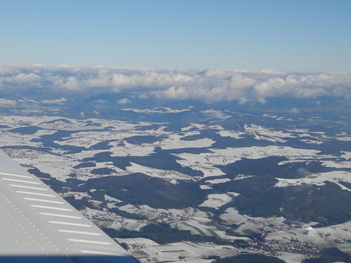 first Snow over Bavaria