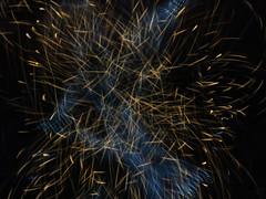 Dark Energy meets Dark Matter (waruzm) Tags: christmas decorations lights led cameratoss icm intentionalcameramovement