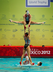 Synchro Highlight Routine - MEX (fina1908) Tags: fina synchronizedswimming synchro trophy 2012 highlights mexicoteam mexicocity mexico mex sywt12 sywt synchroswimming