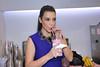 Kim Kardashian promotes her signature milkshake during a Millions of Milkshakes event in Bahrain Manama, Bahrain