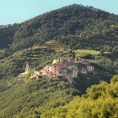 Lavaggiorosso overlooking the beautiful valley of Levanto (Bn) Tags: pink trees houses sea italy orange mountains church colors yellow forest walking woods topf50 san colorful mediterranean italia village little hiking pastel liguria hill tranquility medieval hues valley coastline cinqueterre roads charming elegant topf100 narrow mediterraneansea riveira italianriviera levanto hillsides sebastiano 100faves 50faves lavaggiorosso