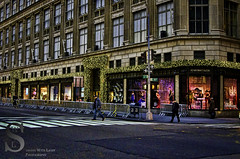 Festive NY SAKS Fifth Ave- (Singing With Light) Tags: city nyc november ny festive photography pentax manhattan 2012 k5 jjp singingwithlight