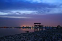 BUSAITEEN l BLUE HOUR (oric ilagan) Tags: longexposure blue sunrise bahrain hour busaiteen