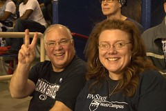 Beth Fahey and Tom Beccone (Penn State World Campus) Tags: pennstateworldcampus pennstatebasketball