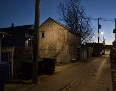 2934 N. Wisner barn/stable (GXM.) Tags: chicago twilight alley historic avondale 2012 kimball 1880s kimbell gxm wisner chicagohistoricresourcessurvey