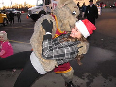 Salvation Army (35) (Moondog Mascot) Tags: food lake army drive discount wing drug monsters erie sully militant salvation 19 channel mart moondog cavaliers strongsville 12122012 cavsmoondog