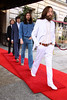 The Beatles at the unveiling of 'Abbey Road'- Beatles wax figures at Adlon hotel on Praiser Platz square in Mitte