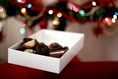 Look, there's no metaphysics on earth like chocolates. Fernando Pessoa ( fotodisignorina  Felicia Violi PHOTOGRAPHY) Tags: christmas digital canon photography eos reflex dof bokeh chocolate dep metaphysics fernandopessoa gayodin rebelt3i