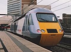 "National Express East Coast Class 43, 43302 (37190 ""Dalzell"") Tags: nxec nationalexpress eastcoast slivergreywhite brelcrewe brushtraction rebuild mtu hst highspeedtrain class43 43302 43102 leeds"
