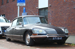 1973 Citroën DS 23 Injection Pallas (rvandermaar) Tags: 1973 citroën ds 23 injection pallas citroënds citroends citroëndspallas sidecode3 import 57yb62