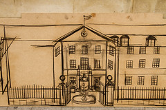 Old Radcliffe Infirmary (sharpbynature) Tags: oxford painting drawing sketch henry mcgrath radcliffe infirmary university philosophy