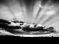 HDR by SM_Ponje (SM Ponje) Tags: google flickr yahoo black white blackandwhite hdr clouds sky canon powershot sx40