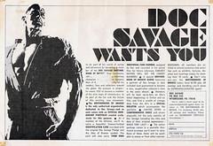DOC-SAVAGE-CLUB-AD-1980s (The Holding Coat) Tags: docsavage jimsteranko mediascenemagazine pulps