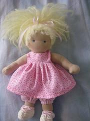 tiny Tina..... (spindlewood2013) Tags: steinerinspireddolls waldorfdoll fabricdoll ooakdoll handmadedoll