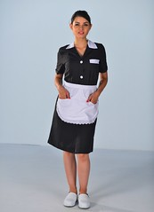 blouse femme de chambre (MYLOOKPRO) Tags: maid maiduniform maids waitress uniforms housekeeping uniform