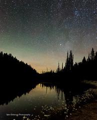 After Midnight (Glen Eldstrom) Tags: pond longexposure starrynight stars bigwhite okanagan britishcolumbia canada nightphotography night landscapelovers landscape