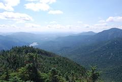 Pyramid Peak (runJMrun) Tags: adirondacks adirondack mountains new york state summer partly cloudy skies clear day