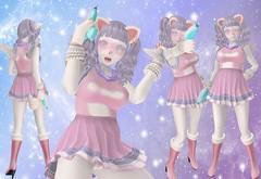 Space Hunter Berry (SerenitySemple) Tags: secondlife furry fashion asteroidbox deviledeggcomicon pixelgeek sanarae barerose ayashi maitreya sweetthing gacha animehead anime kawaii space cyber
