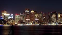 Boston Harbor (melmark44) Tags: boston massachusetts harbor harborside longexposure night bostonharbor 5dmkiv eos5dmkiv canon newcamera nightphotography iso800 bostonharborhotel roweswharf customhousetower fanpier oldnorthernavenuebridge fanpierpark lownoise fullframe