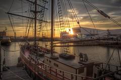 0186 (ElitePhotobox2) Tags: liverpool docks zebu tall ship brocklebank steam tug hdr linux luminance
