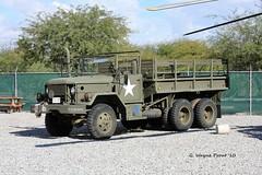 Kaiser M35A2 Cargo 6x6 Truck Deuce and Half 65 Com Eng (Gerald (Wayne) Prout) Tags: kaiserm35a2cargo6x6truckdeuceandhalf65comeng palmspringsairmuseum palmsprings riversidecounty california usa prout geraldwayneprout canon canoneos40d kaiser m35a2 cargo 6x6 truck deuceandhalf 65comeng military usarmy usmarines mediumduty