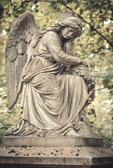 (A.A.Pushkin (graf.punski@gmail.com)) Tags: woohoo cemetery angel cry deadweather nikond200 nikkor50mm14 pushkin
