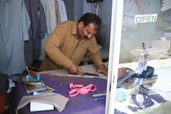 Tailor in Rawalpindi (Akhuwat BPP) Tags: rawalpindi pakistan interest free loans microfinance entrepreneurship pakhtoon ordinary people small business akhuwat tailor
