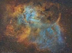 Cosmic Light and the  delta source. (www.moonrocksastro.com) Tags: cepheus planetary nebula astronomy space science cygnus cosmos universe astrophotography art valencia spain espaa chroma deep hubble palette astronomia gamma emission nebulosity nebulae sky skies night stars