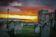 IMG_2995-2 (jameshowardphotography) Tags: stunning storm st marys church whitby sky orange landscape sunset sunshine gravestone clock 199 steps yorkshire north northyorkshire northeast northern coast